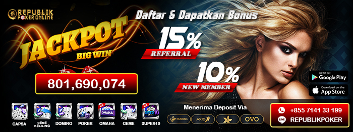 DAFTAR REPUBLIK POKER SERVER IDN
